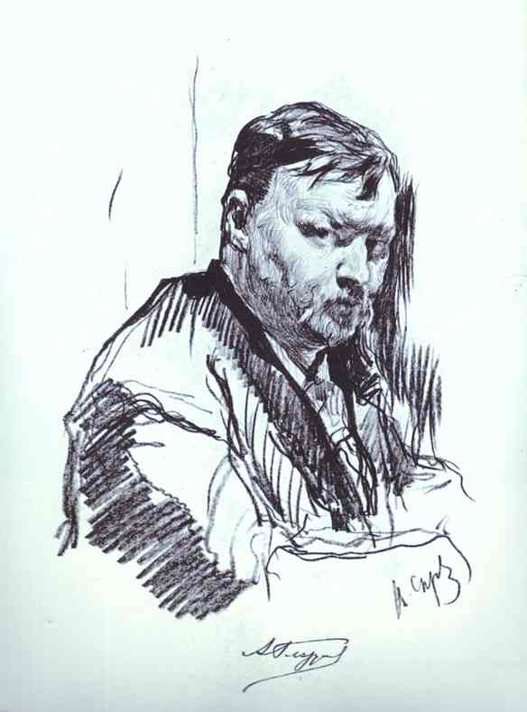 Glazunov-drawing